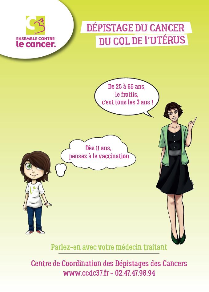 11ÈME SEMAINE EUROPÉENNE DE PRÉVENTION DU CANCER DU COL DE L'UTÉRUS